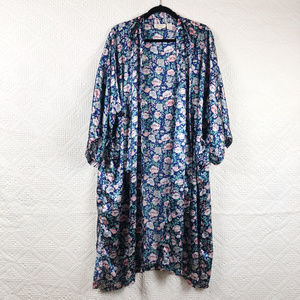 Vintage Victoria Secret Quarter Sleeve Floral Robe